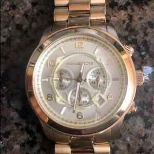Ladies large face Michael Kors Watch